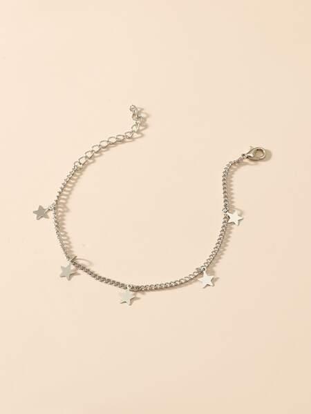 Star Tassel Chain Bracelet