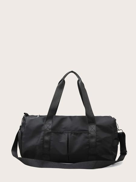 Minimalist Oxford Barrel Bag