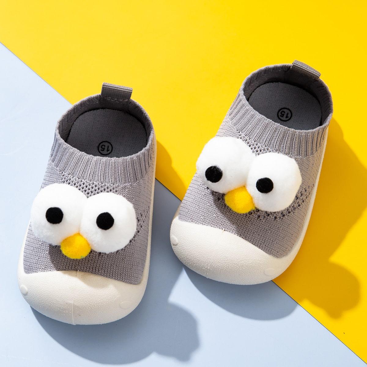 Кроссовки с мультипликационным принтом для мальчиков от SHEIN