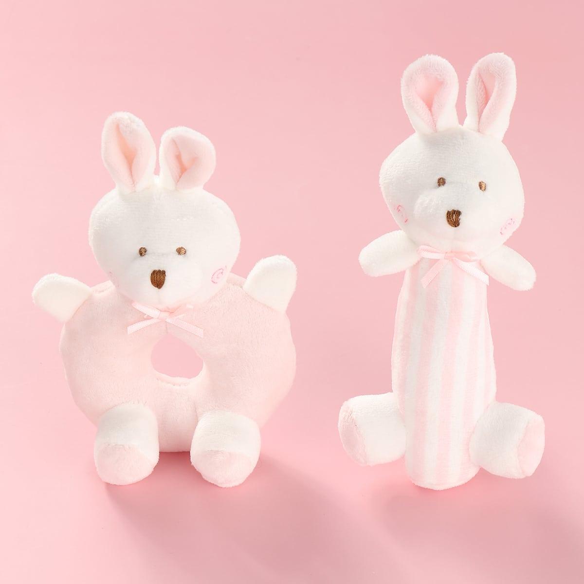 Игрушка в форме кролика для кошек 2шт