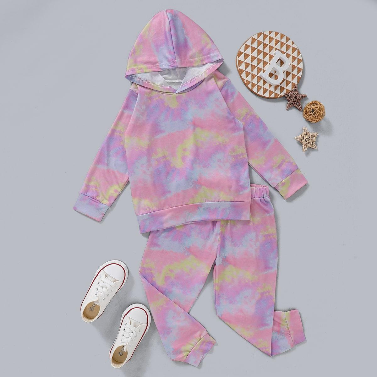 SHEIN / Hoodie & Pullover mit Batik