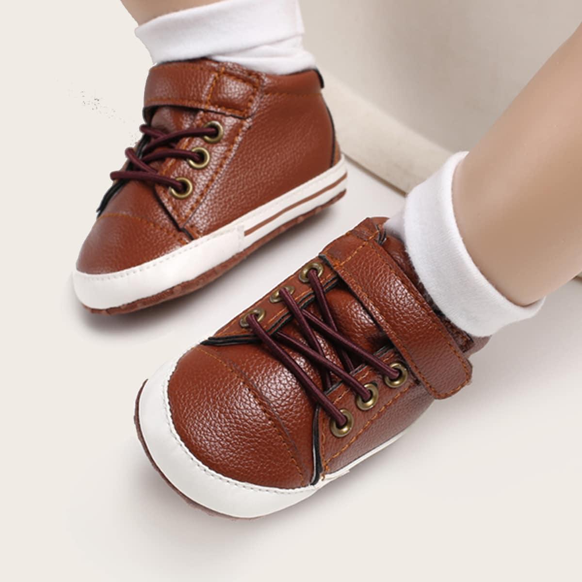 Кроссовки на липучке для мальчиков от SHEIN