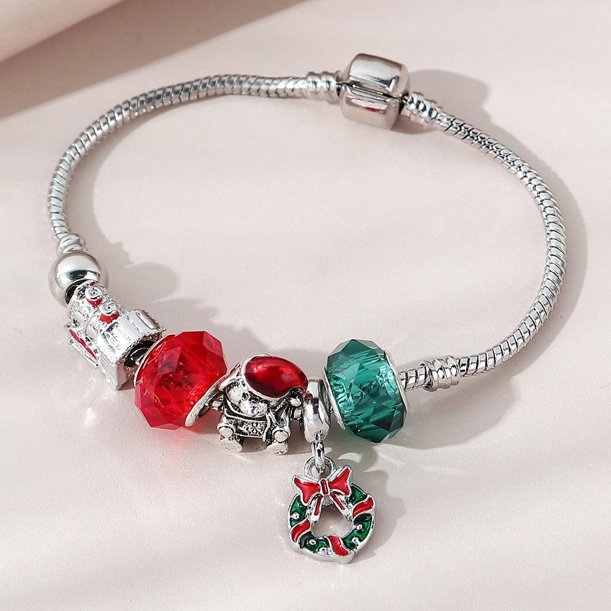 SHEIN / Armband mit Weihnachten Kranz Anhänger