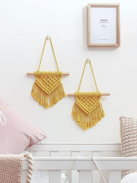 1pc Braided Wall Hanging