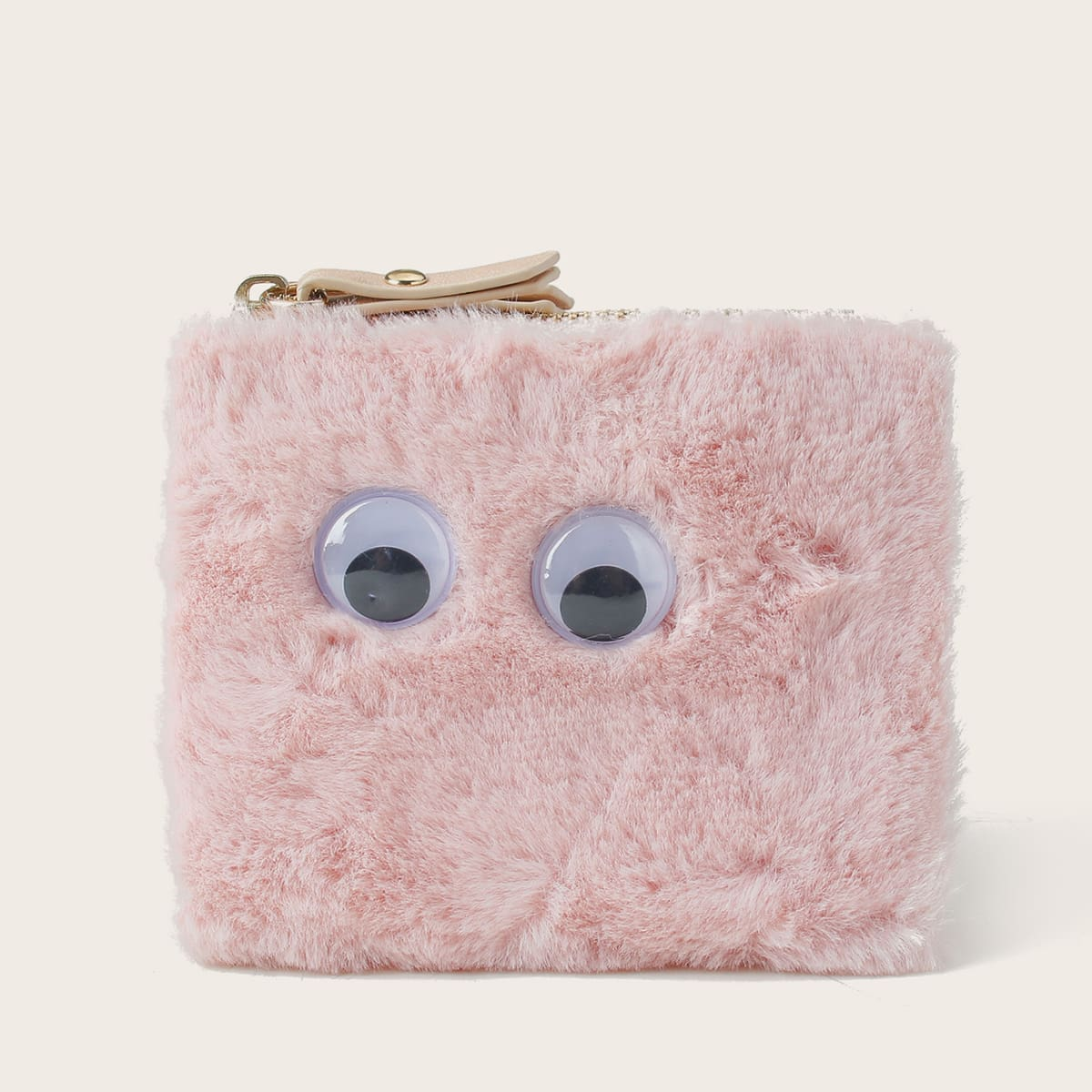 Cartoon Design Fluffy Bifold Purse (swbag18200824627) photo
