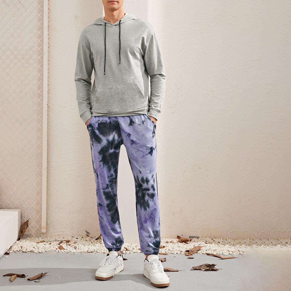 Мужская толстовка и спортивные брюки с принтом
