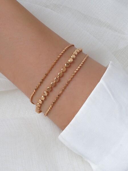 Simple Layered Bracelet