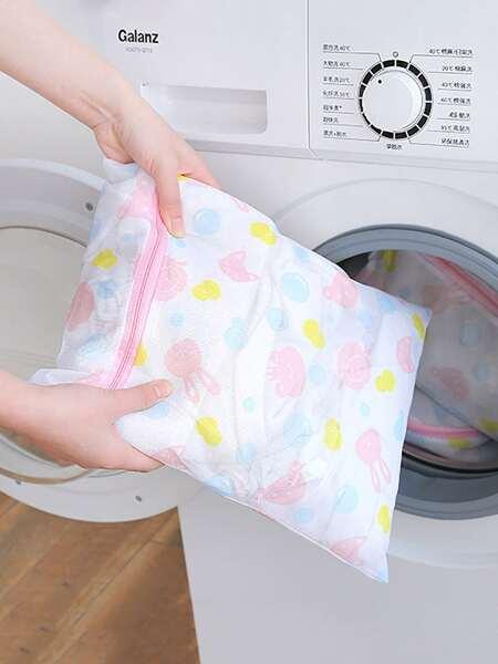 1pc Cartoon Graphic Laundry Bag