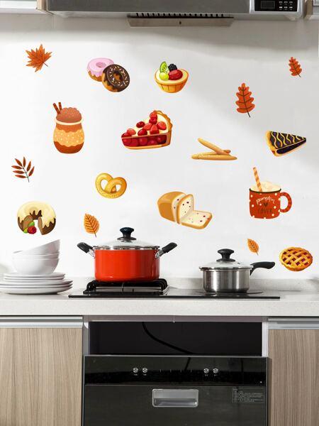Dessert Print Wall Sticker