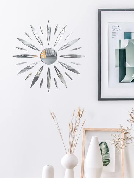 Sun Mirror Surface Wall Sticker