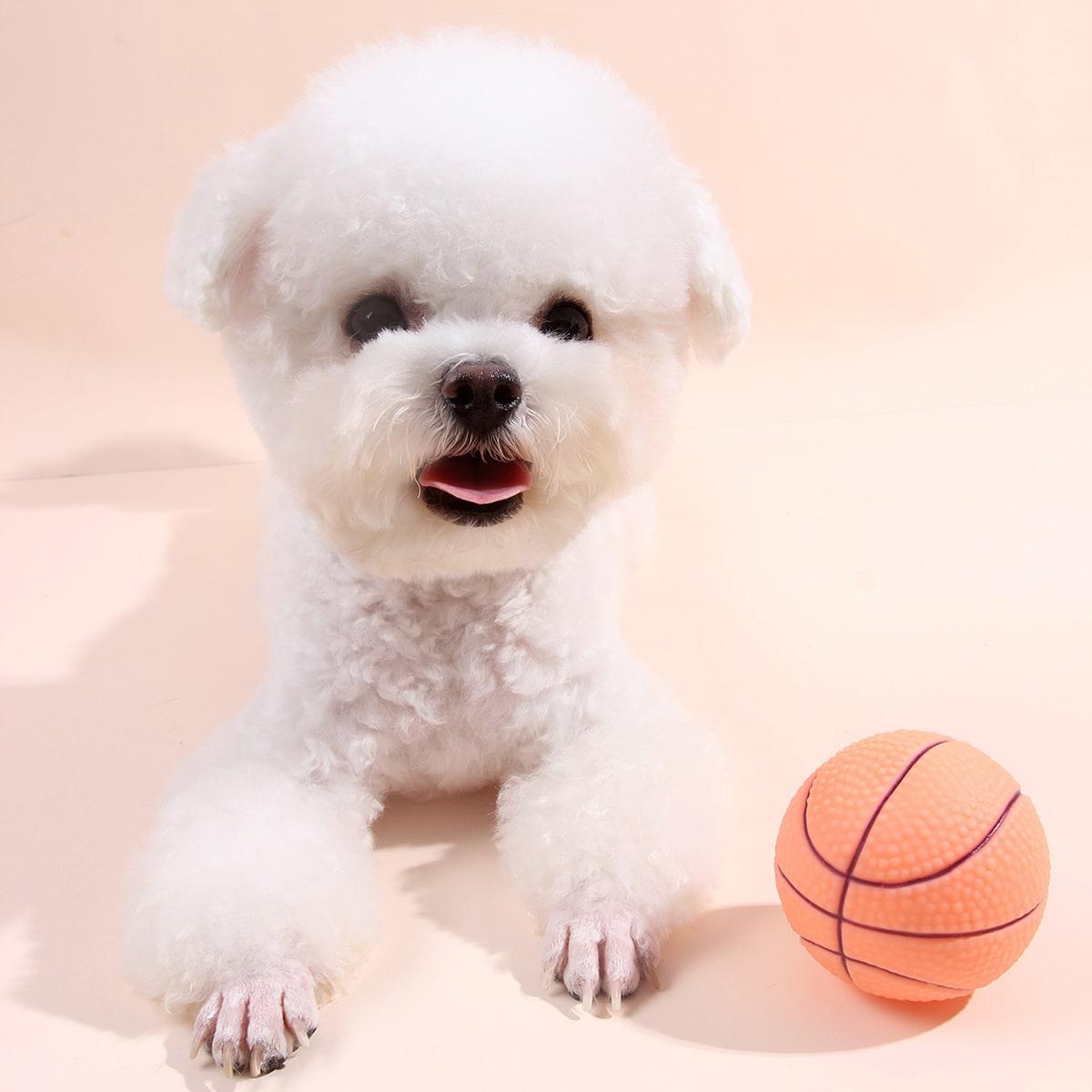 1шт звуковая игрушка в форме баскетбола
