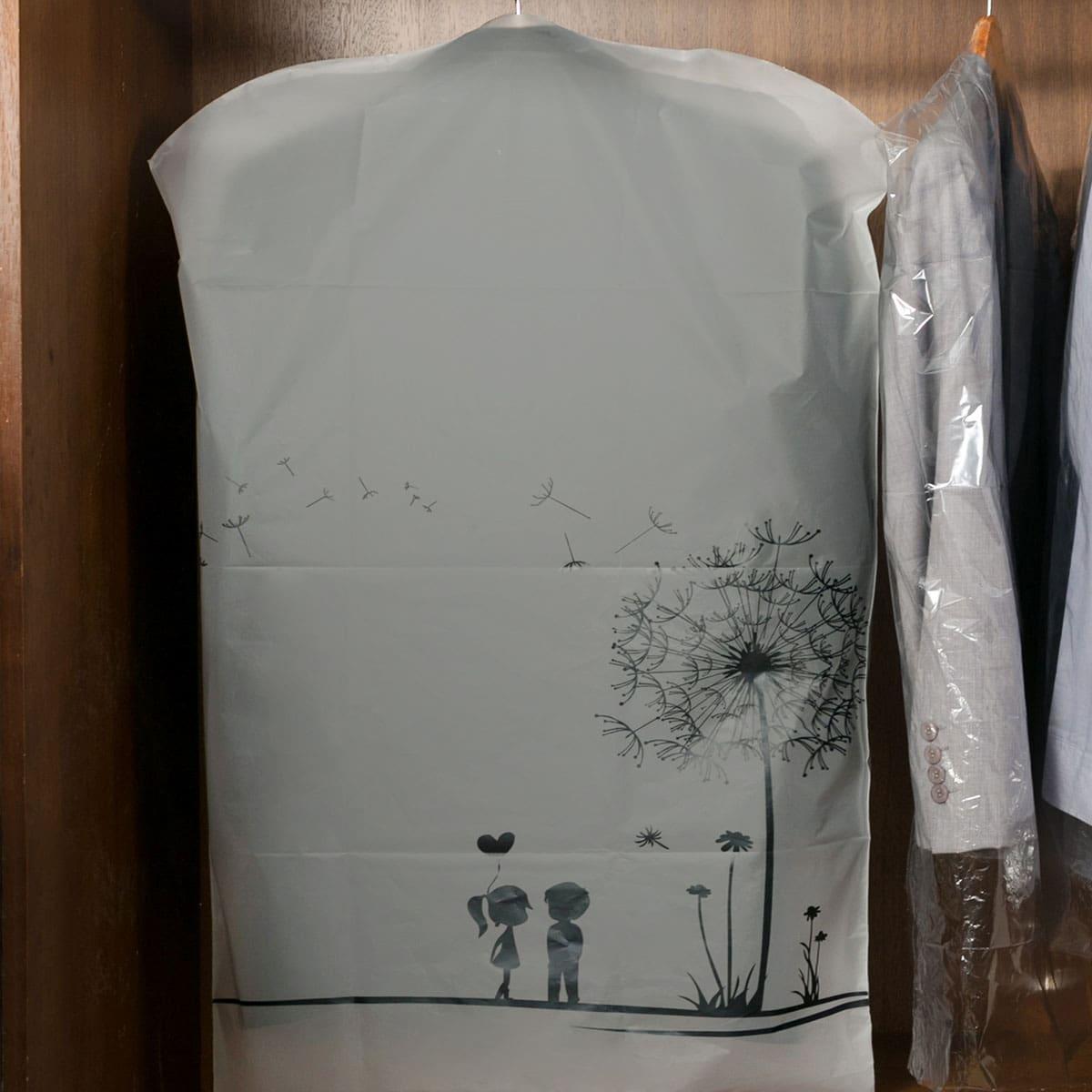 1шт пылезащитный чехол для одежды с принтом