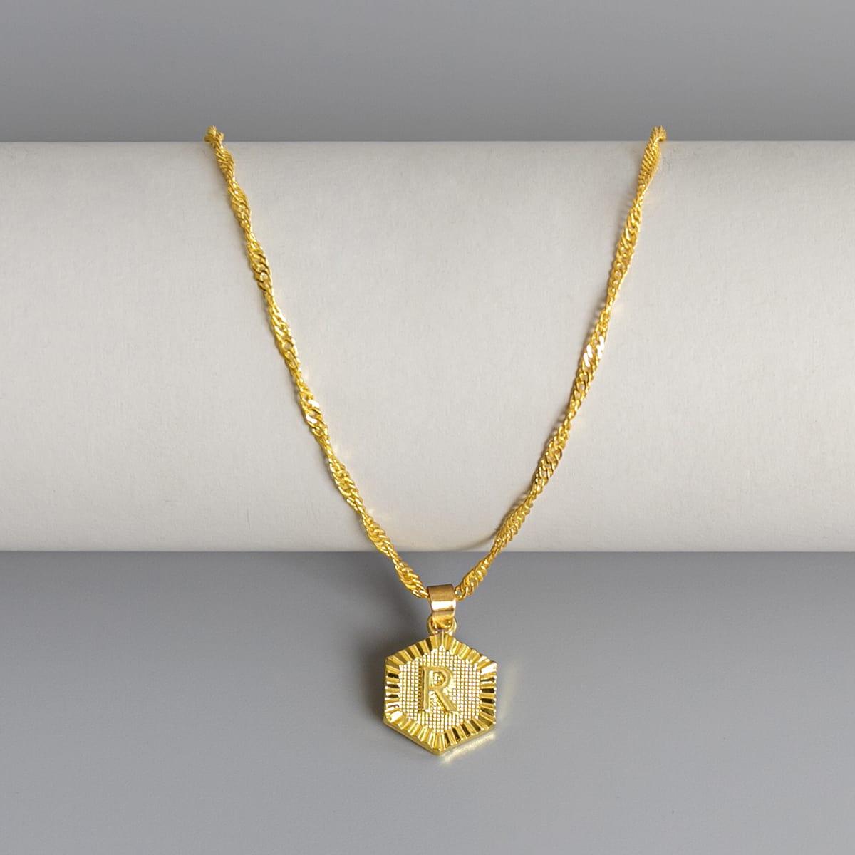 Мужской ожерелье с буквой от SHEIN