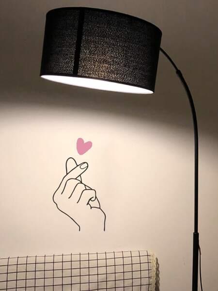 Finger Print Wall Sticker