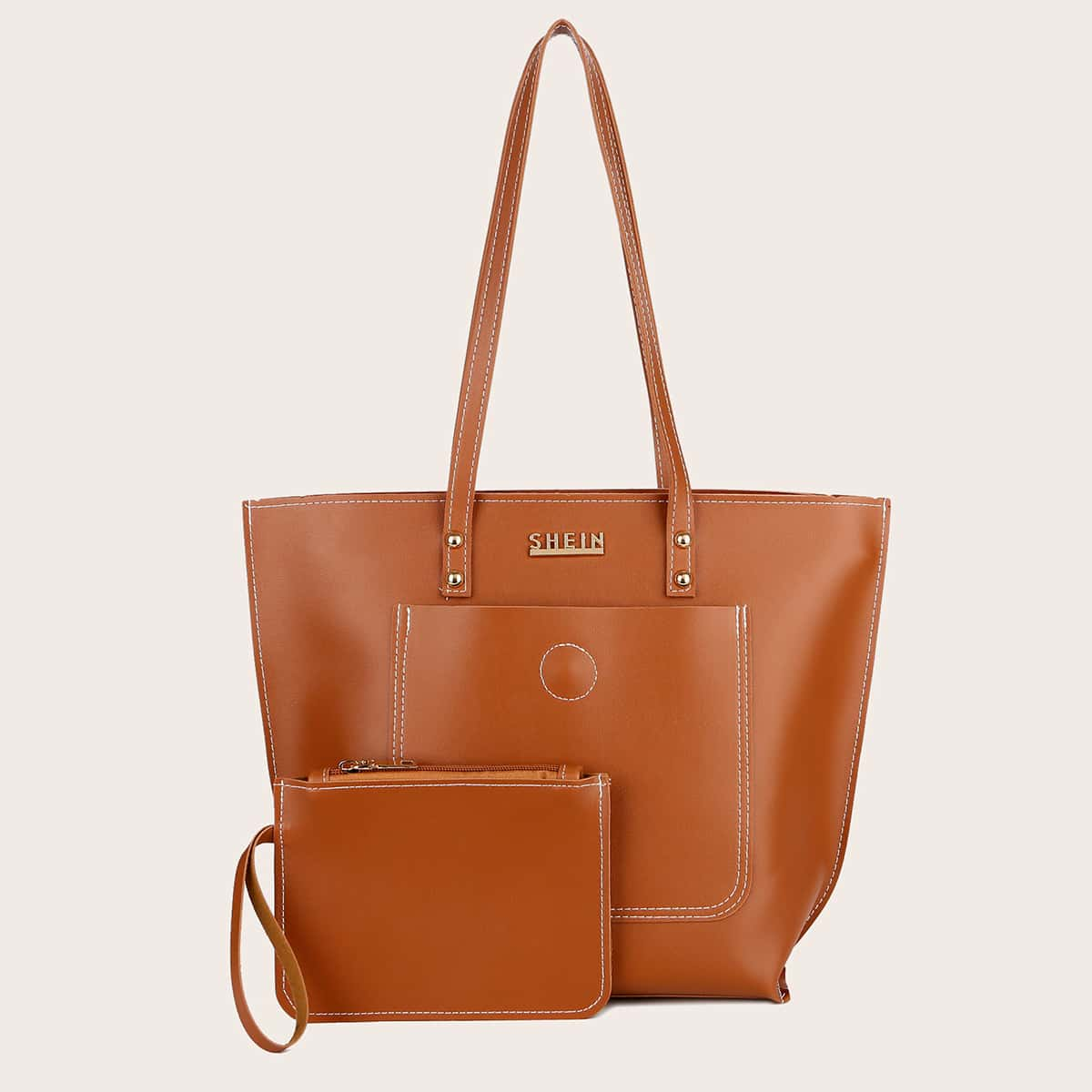Large Capacity Tote Bag With Purse (swbag18200901922) photo