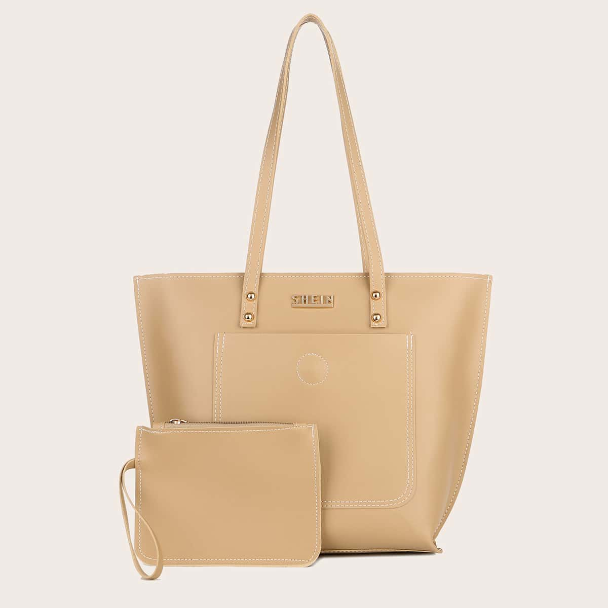 Large Capacity Tote Bag With Purse (swbag18200901374) photo