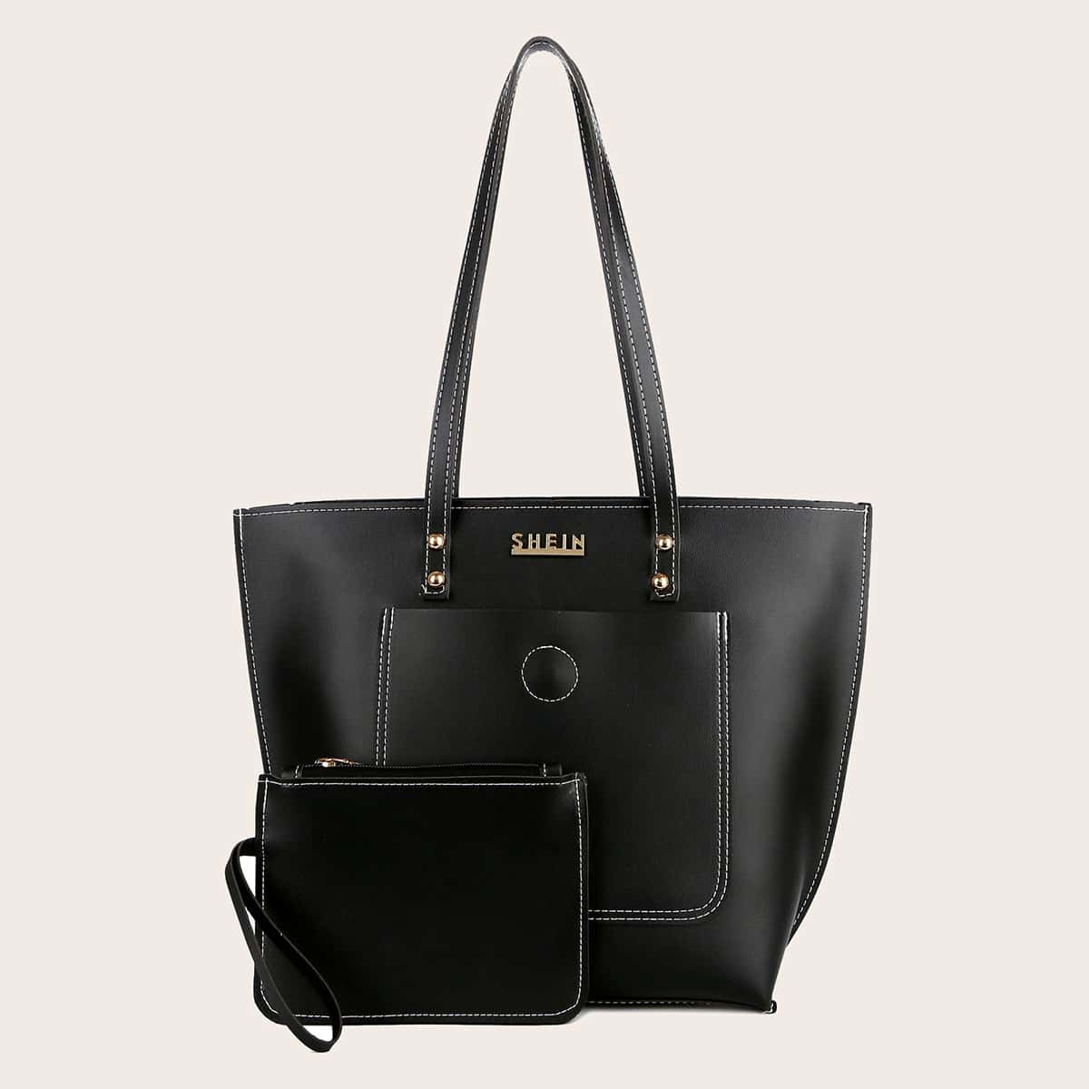 Large Capacity Tote Bag With Purse (swbag18200901006) photo