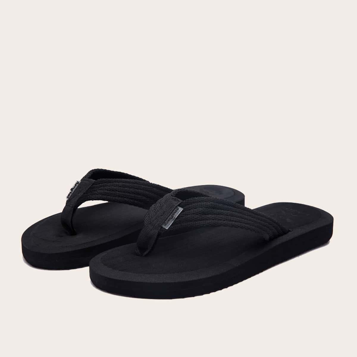 SHEIN / Chanclas & Zapatillas de Hombres Liso