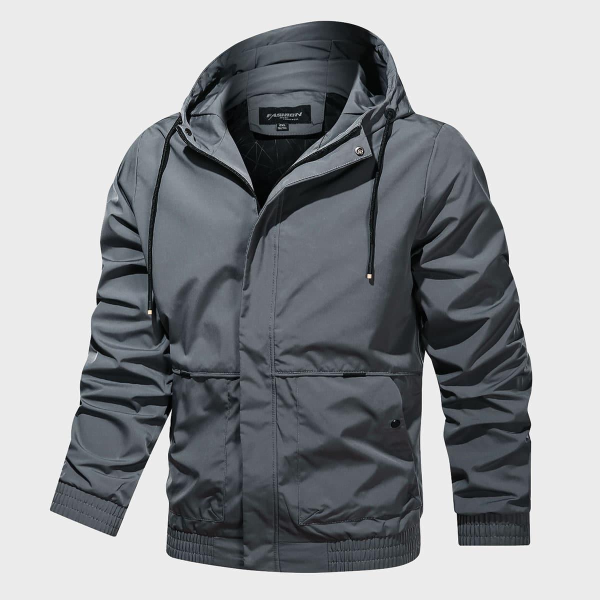 Мужская спортивная куртка ветровка на кулиске
