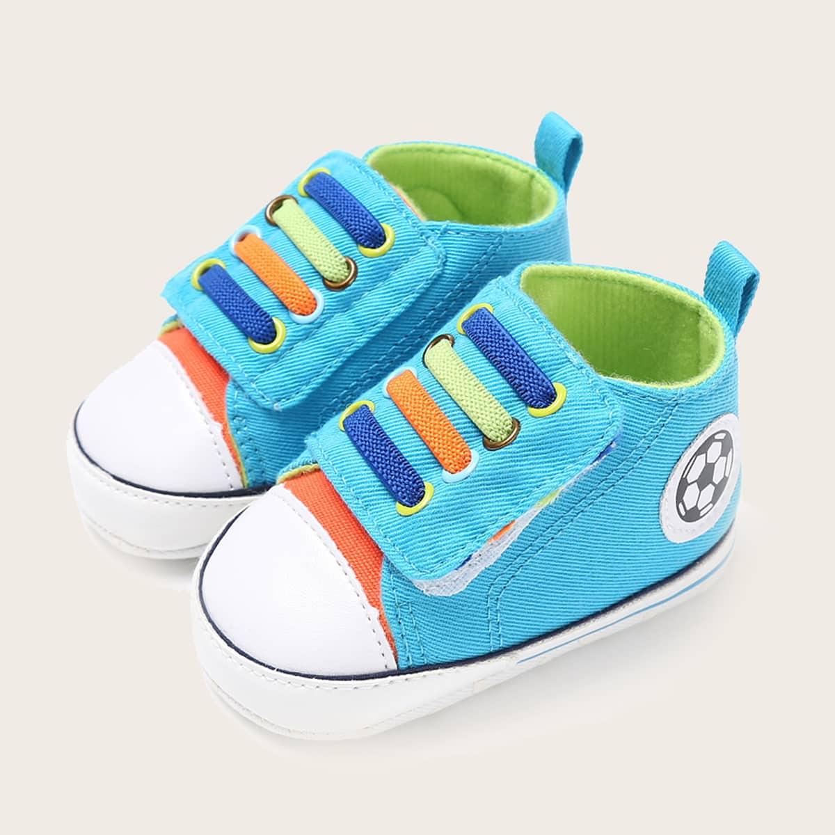 shein Kleurblok Baby sneaker