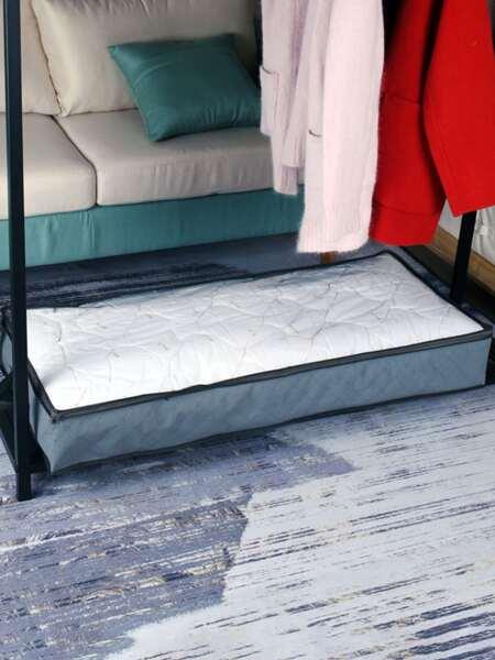 1pc Foldable Quilt Storage Bag
