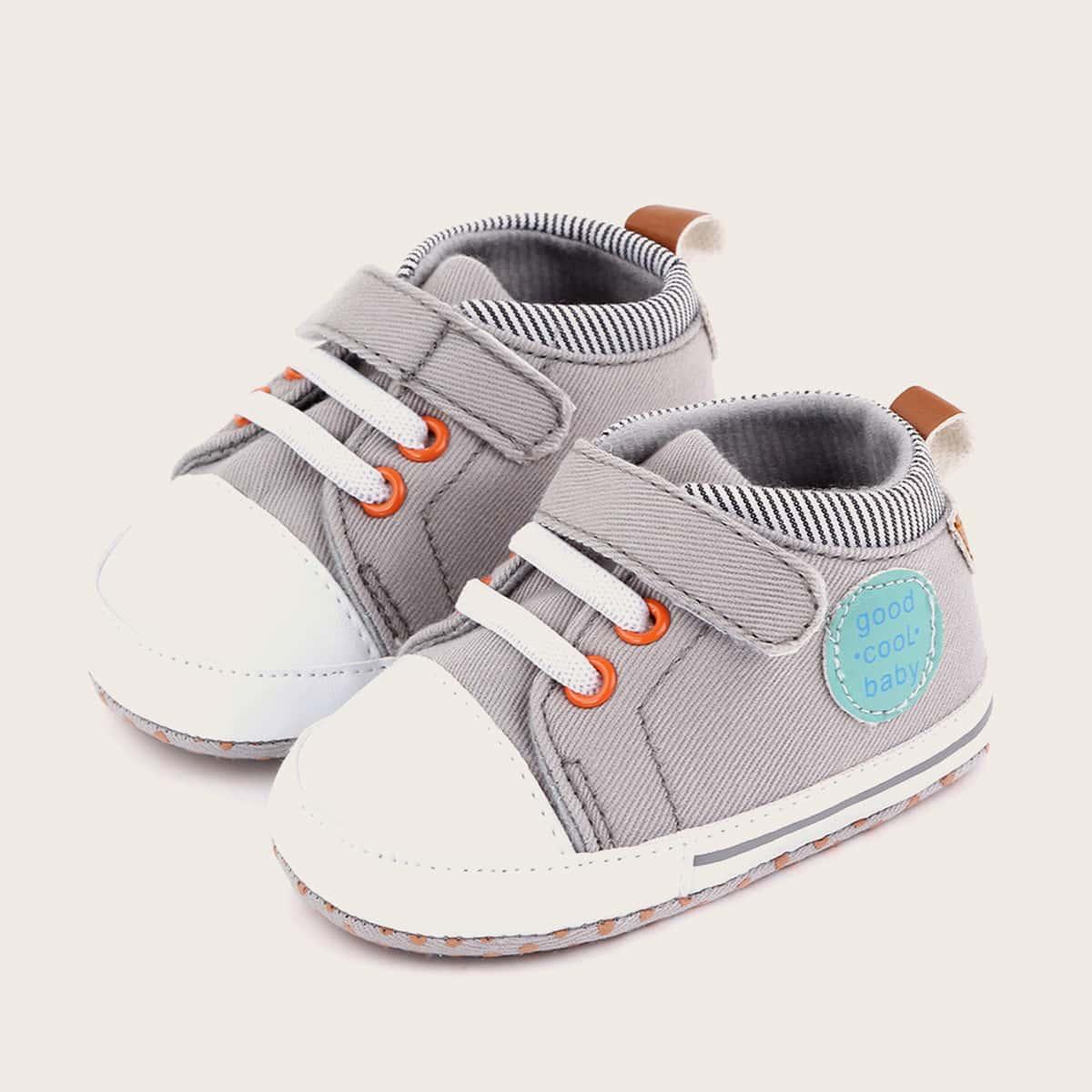 shein Sneakers met klittenband voor babyjongens
