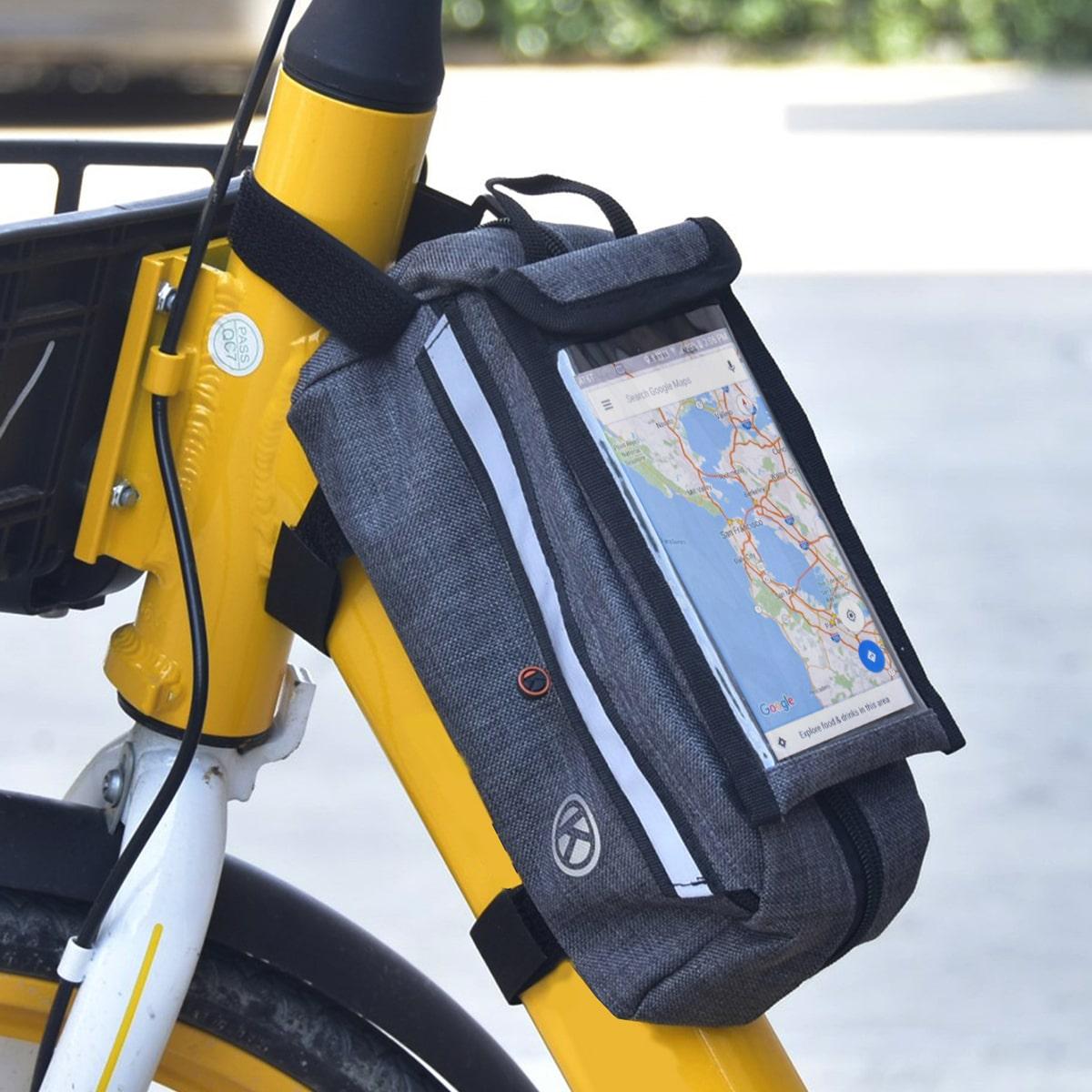 Велосипедная сумка для верхней трубки 1шт