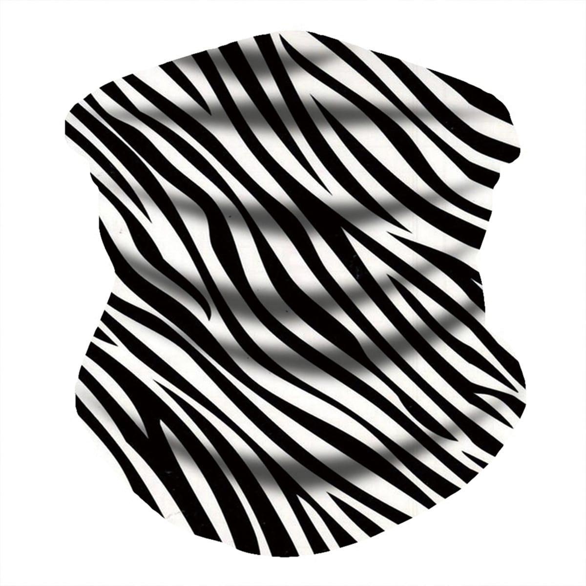 shein Zebrastreeppatroon Zonbescherming voor het gezicht