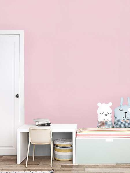 1pc Solid Color Wallpaper Sticker