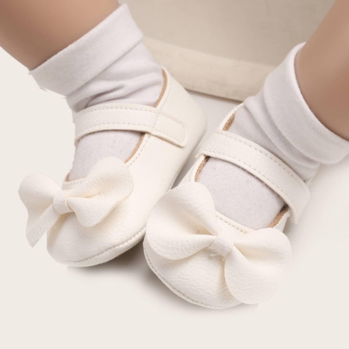 shein Mary Jane Vlak Baby platte schoentjes Boog