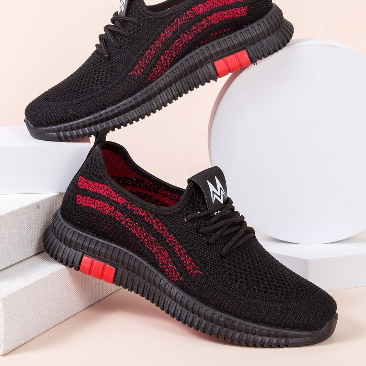 shein Kleurblok Sneaker Kant