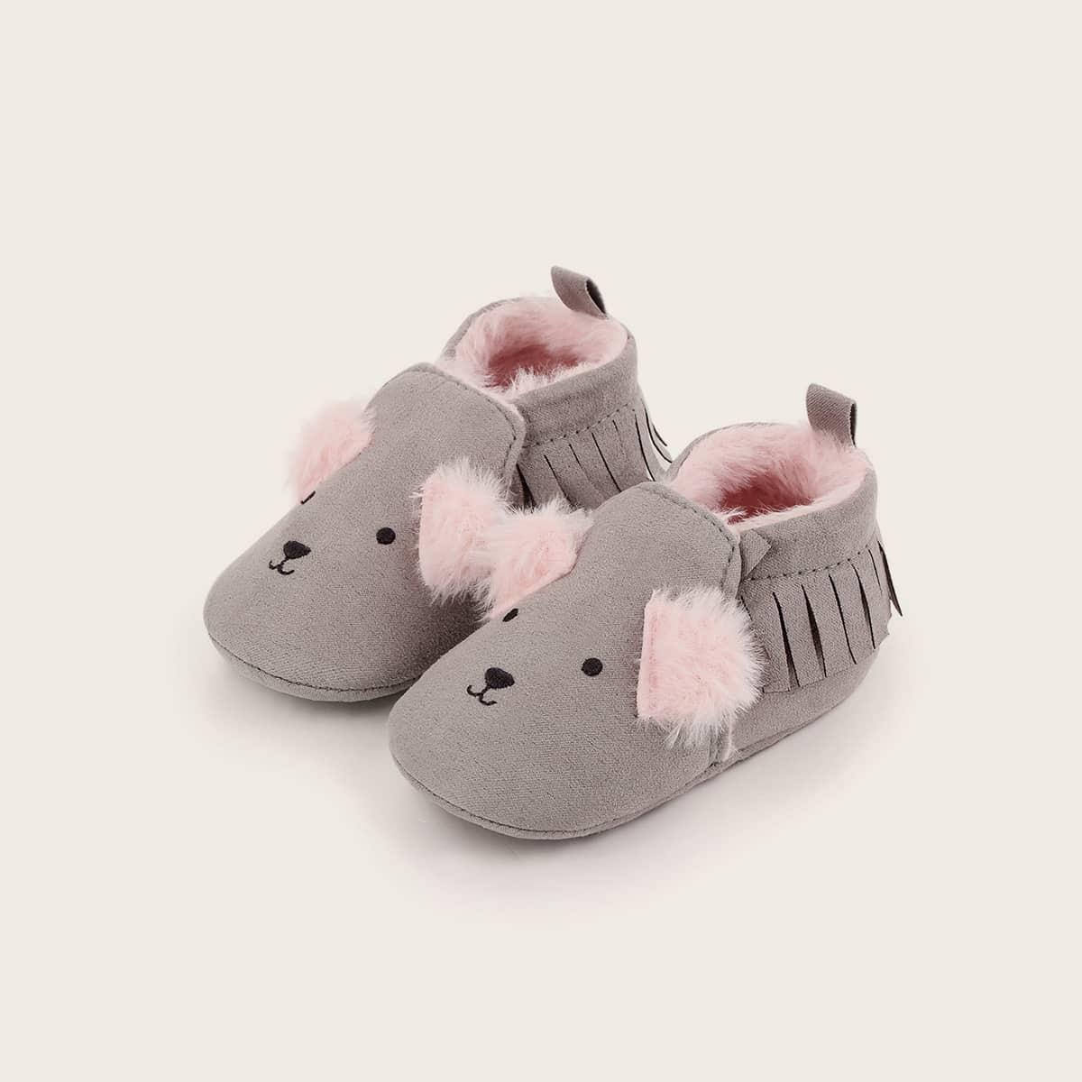 shein Spotprent Baby platte schoentjes