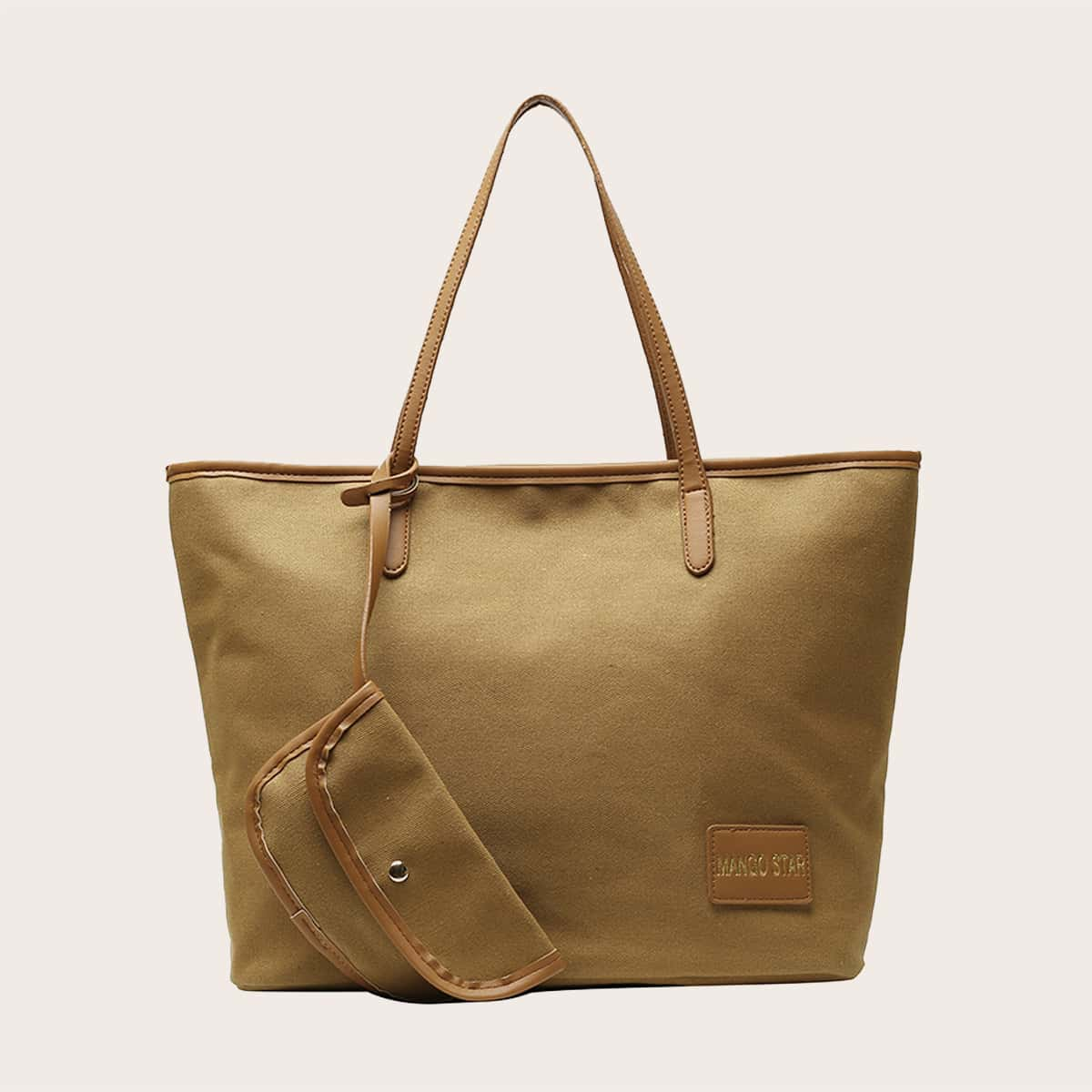 Large Capacity Tote Bag With Purse (swbag18200915049) photo