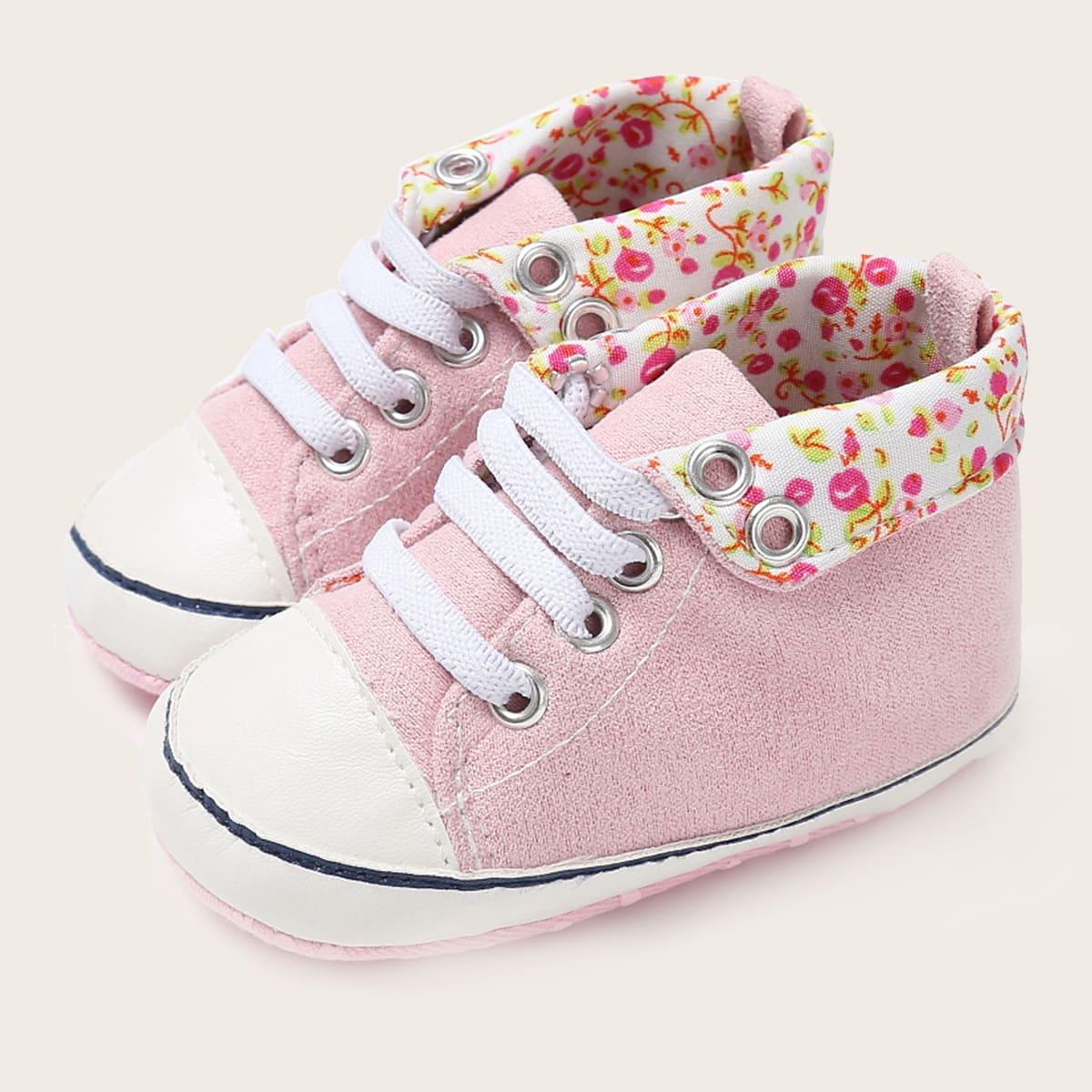 shein Bloemen Baby sneaker