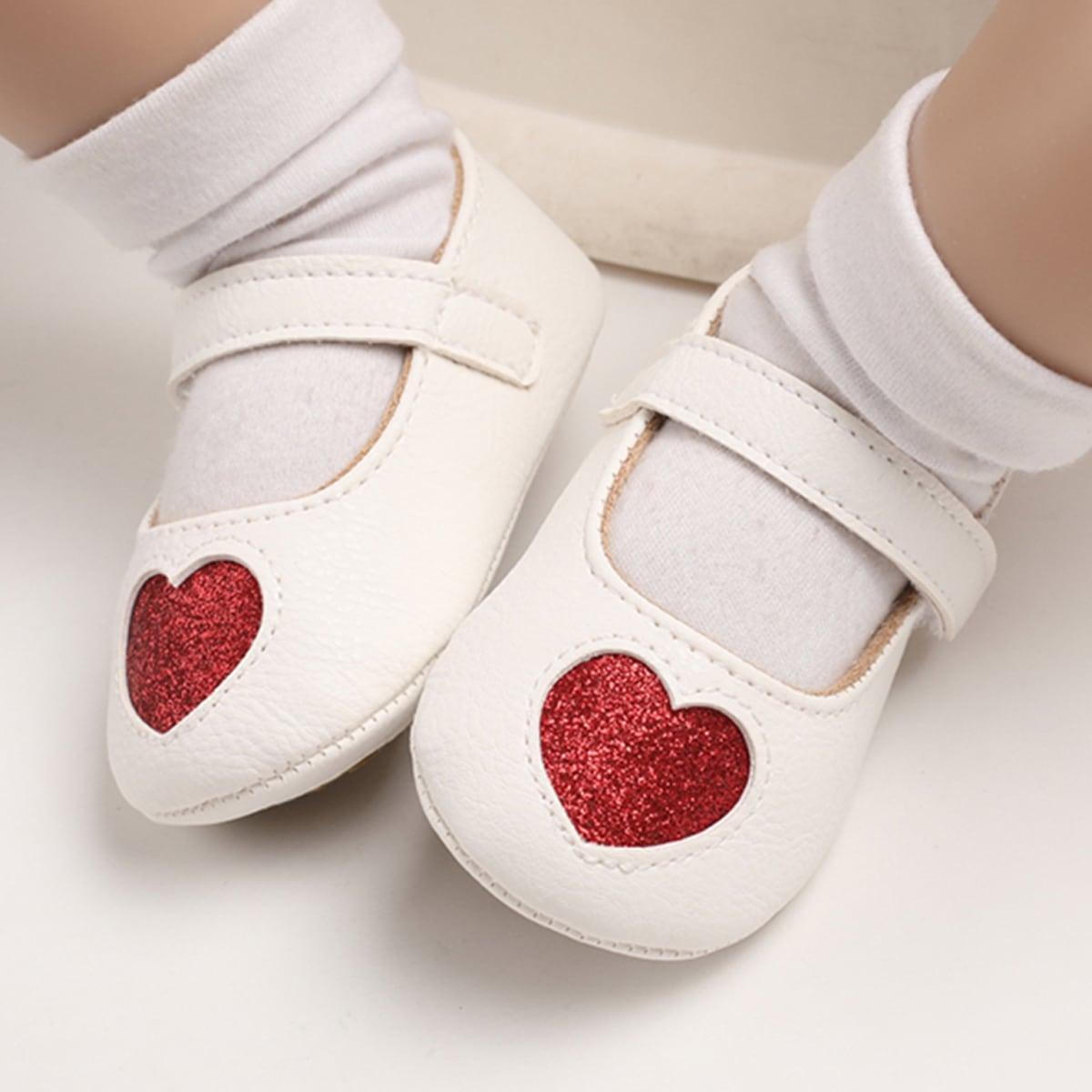 shein Mary Jane Hart Baby platte schoentjes Glitter