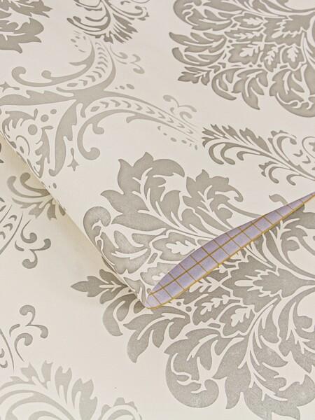 1sheet Royal Floral Pattern Wall Sticker
