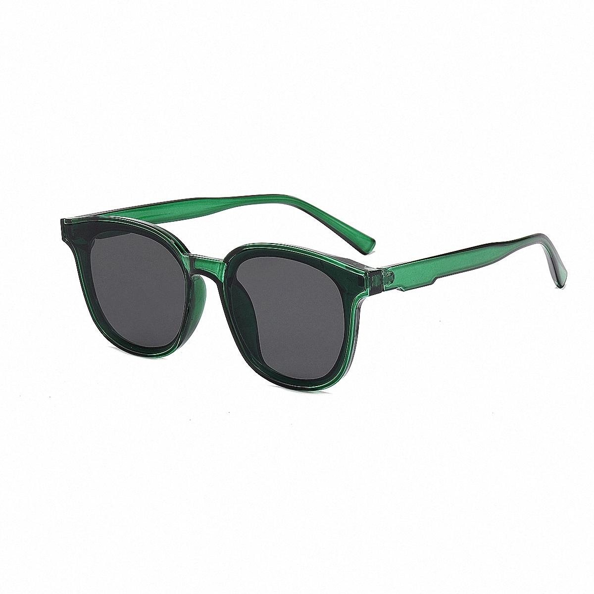 shein Heren zonnebril met acryl montuur
