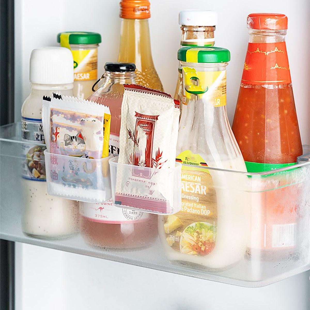 SHEIN / 2pcs Kitchen Clear Storage Box