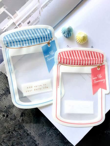 10pcs Random Color Ziplock Candy Bag