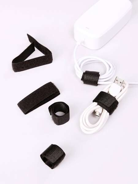 6pcs Velcro Data Cable Organizer