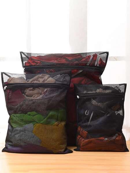 3pcs Mesh Laundry Bag