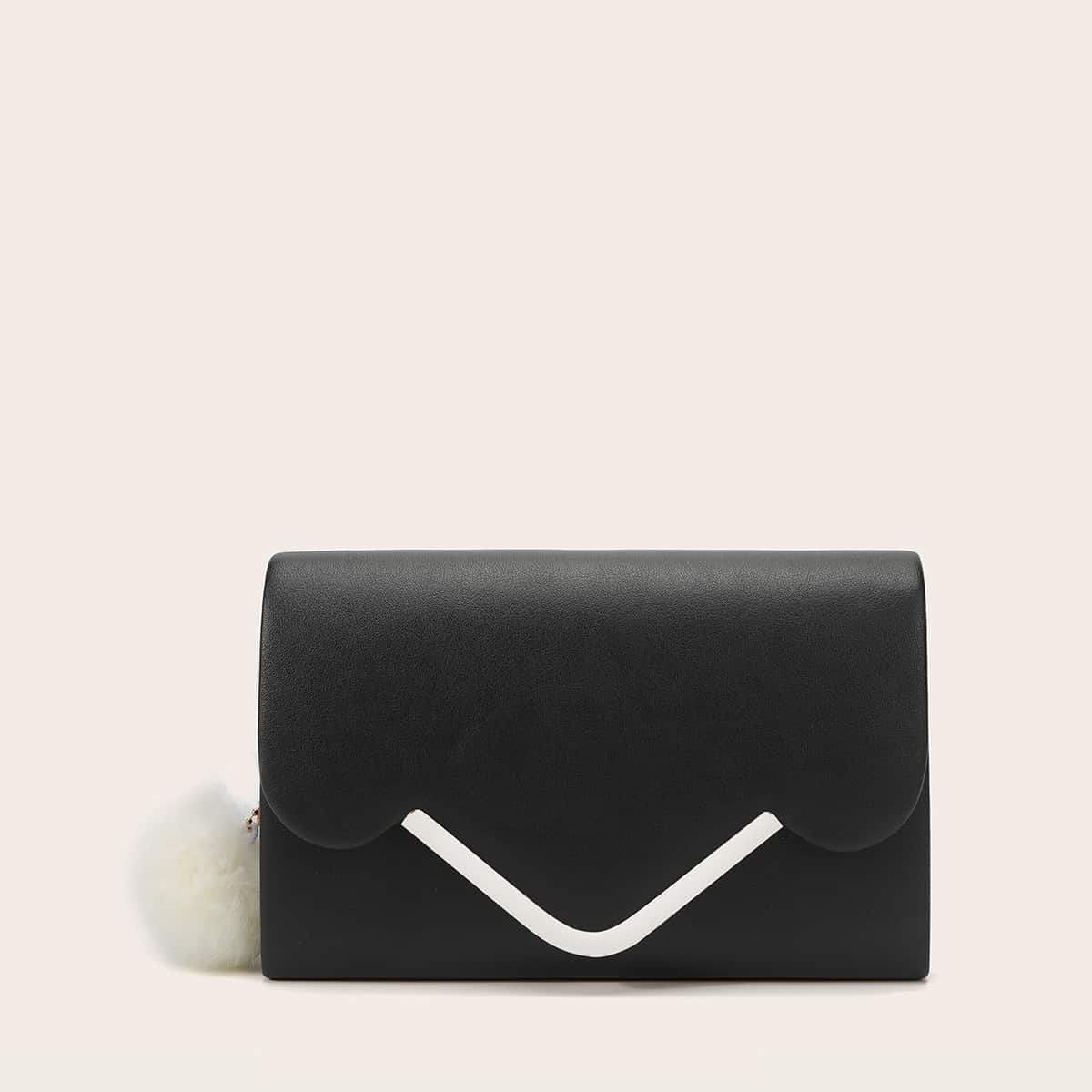 shein Ketting  clutches Pompon