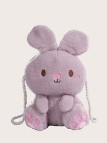 Cartoon | Rabbit | Girl | Bag