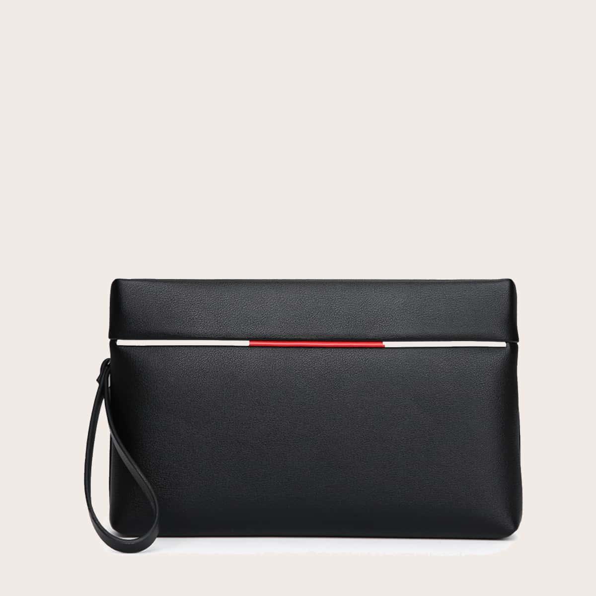 Мужская сумка-клатч с металлическим декором от SHEIN