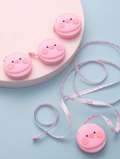 1pc Cartoon Pig Soft Tape Measure