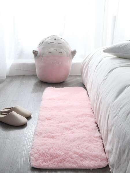 Solid Plush Floor Mat
