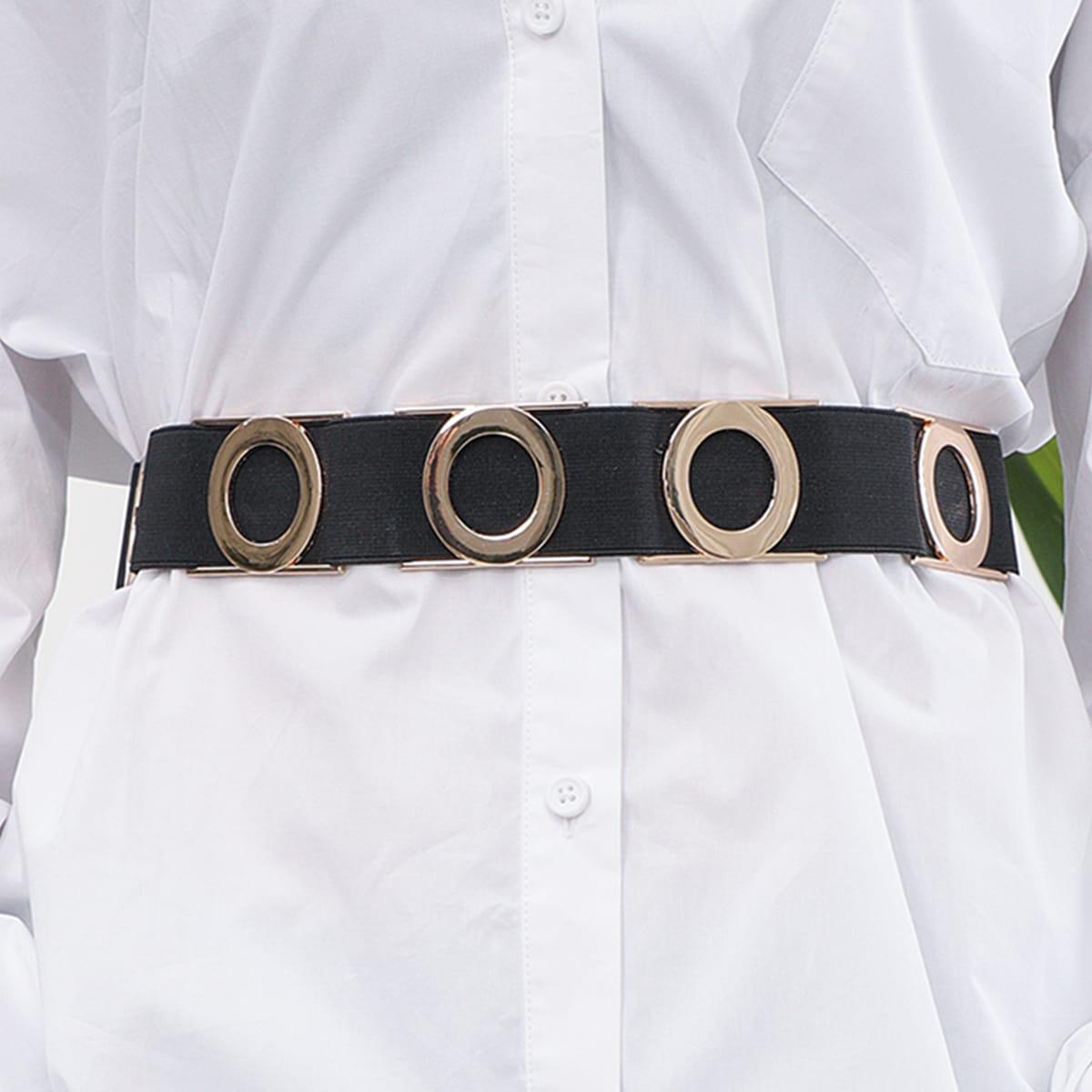 SHEIN / Metall Gürtel mit Ring Dekor