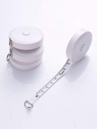 1pc Mini Shrink Tape Measure