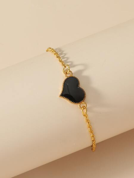Heart Decor Bracelet