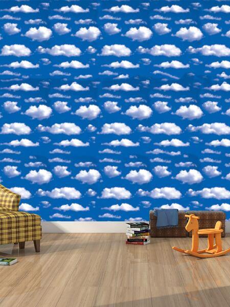1sheet Cloud Print Wallpaper Sticker